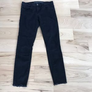 Articles of society mid rise skinny black wash